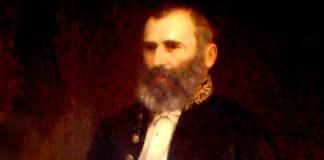 Detalhe do quadro do Dr. Bezerra de Menezes, exposto na Câmara Municipal do Rio de Janeiro.
