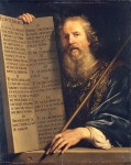 Tela: Philippe de Champaigne (1602-1674) Moisés
